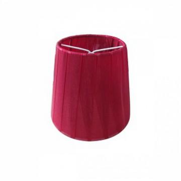Абажур MW-Light LSH2020, бордовый, текстиль