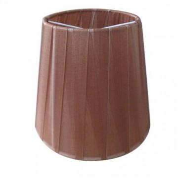 Абажур MW-Light LSH2022, коричневый, текстиль