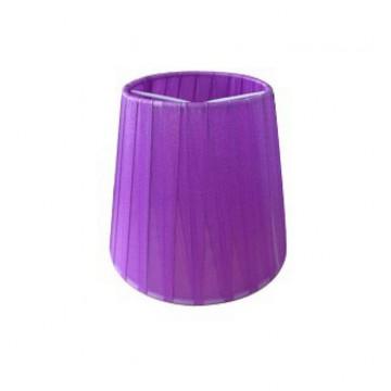 Абажур MW-Light LSH2024, фиолетовый, текстиль