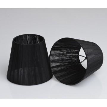 Абажур MW-Light LSH2025, черный, текстиль