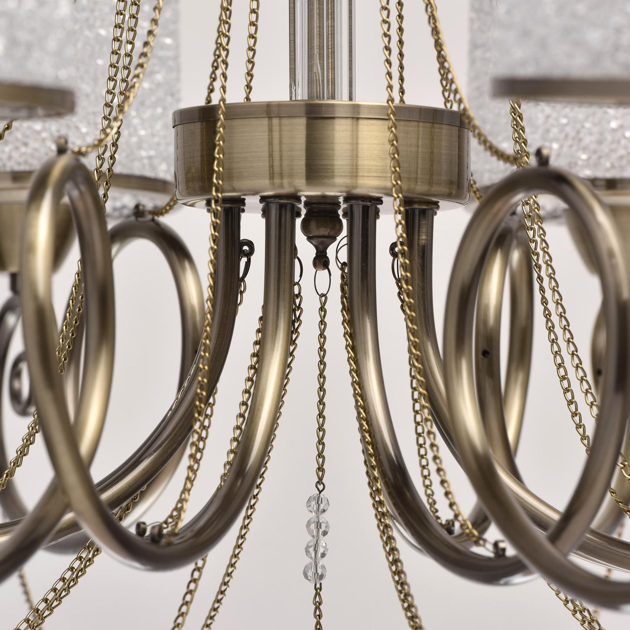металлические люстры фото рублях