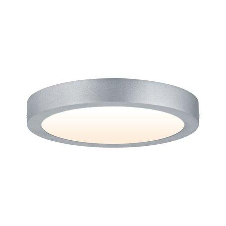 Потолочный светодиодный светильник Paulmann Carpo 79798, LED 16W, матовый хром, металл с пластиком
