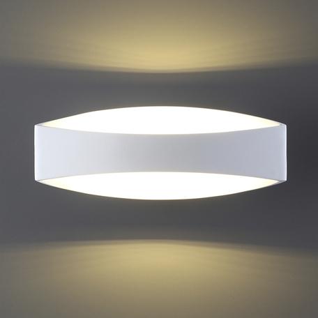 Настенный светодиодный светильник Odeon Light Mirso 3540/6LW, LED 6W, 3000K (теплый), белый, металл, пластик