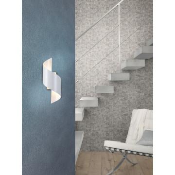 Настенный светодиодный светильник Odeon Light Boccolo 3543/5LW 3000K (теплый), белый, металл - миниатюра 2