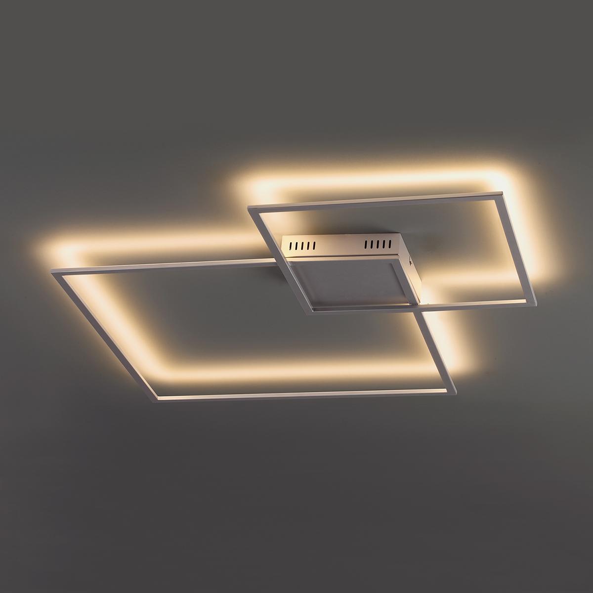 Настенный светодиодный светильник Odeon Light QuadroLED 3558/36CL, серебро, металл - фото 1