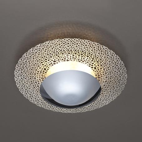 Настенный светодиодный светильник Odeon Light Hightech Lunario 3560/24L, LED 24W 3000K 1920lm, хром, металл
