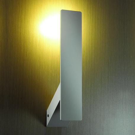 Настенный светодиодный светильник Odeon Light Muralia 3593/5WL, LED 5W 3000K 450lm, белый, металл