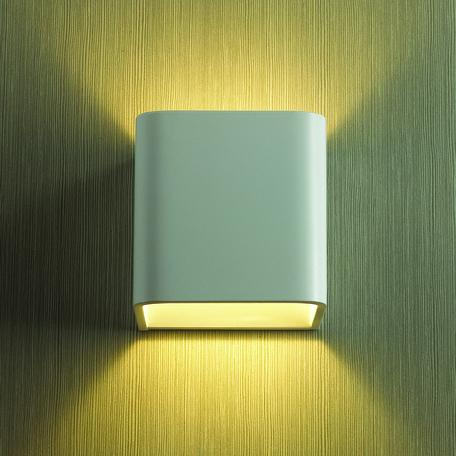 Настенный светодиодный светильник Odeon Light Hightech Muralia 3594/5WL, LED 5W 3000K 450lm, белый, металл