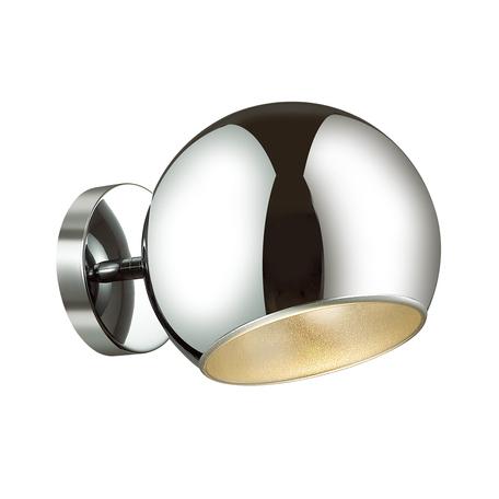 Настенный светильник Odeon Light Miolla 3972/1W, 1xE27x60W, хром, металл