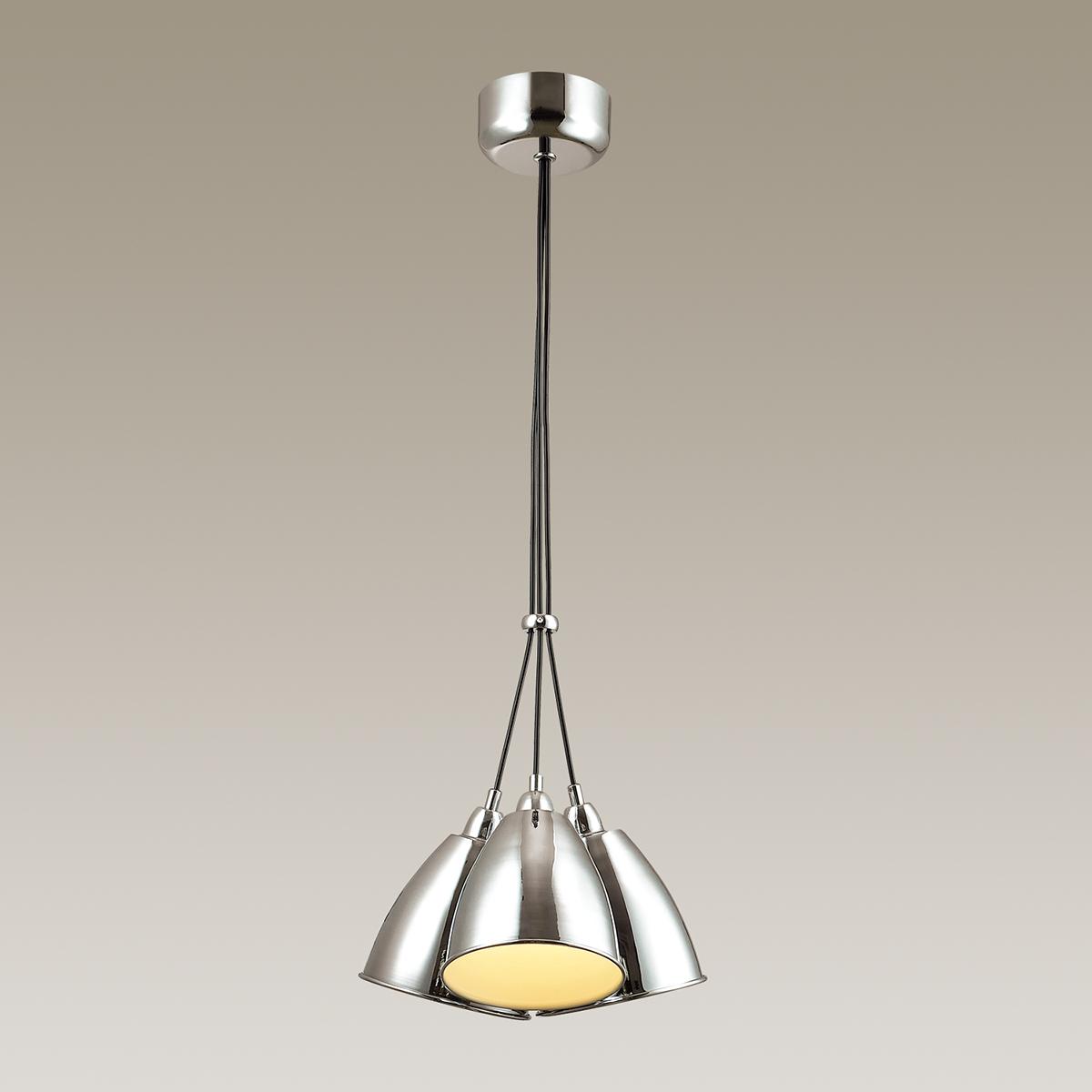 Подвесная люстра Odeon Light Trina 3975/3, 3xE27x60W, хром, металл - фото 1