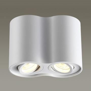 Потолочный светильник Odeon Light Pillaron 3564/2C, 2xGU10x50W, белый, металл - миниатюра 1