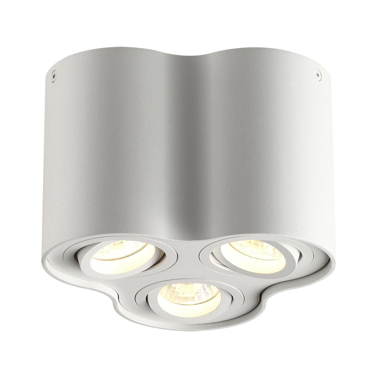 Потолочный светильник Odeon Light Pillaron 3564/3C, 3xGU10x50W, белый, металл - фото 1