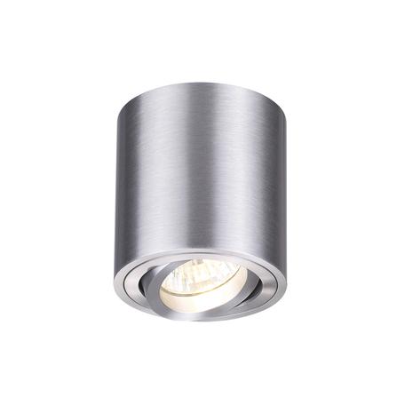 Потолочный светильник Odeon Light Tuborino 3566/1C, 1xGU10x50W, серебро, металл