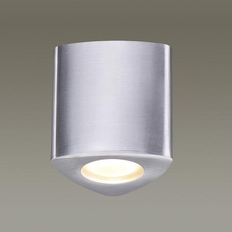 Потолочный светильник Odeon Light Aquana 3573/1C, IP44, 1xGU10x50W, алюминий, металл, стекло