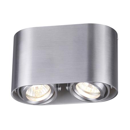 Потолочный светильник Odeon Light Montala 3576/2C, 2xGU10x50W, серебро, металл
