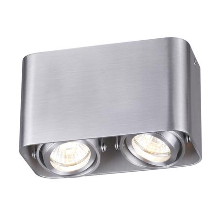 Потолочный светильник Odeon Light Montala 3577/2C, 2xGU10x50W, серебро, металл