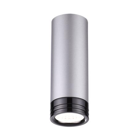 Потолочный светодиодный светильник Odeon Light LEDrox 3580/9CL, LED 9W, 4000K (дневной), серый, черный, металл