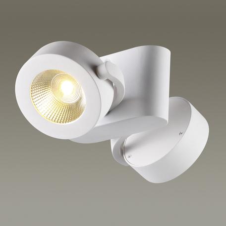 Потолочный светодиодный светильник с регулировкой направления света Odeon Light Pumavi 3493/20CL, LED 20W, 3000K (теплый), белый, металл