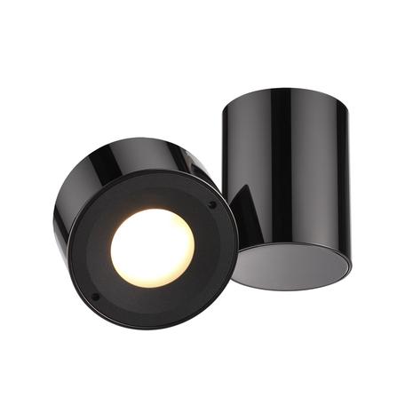 Потолочный светильник с регулировкой направления света Odeon Light Tunasio 3587/1C, 1xG5.3x5W, черный, металл