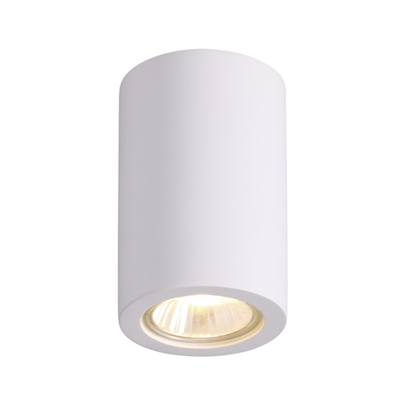 Потолочный светильник Odeon Light Gips 3553/1C, 1xGU10x35W, белый, под покраску, гипс