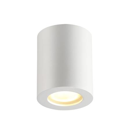 Потолочный светильник Odeon Light Hightech Aquana 3571/1C, IP44, 1xGU10x50W, белый, металл, стекло