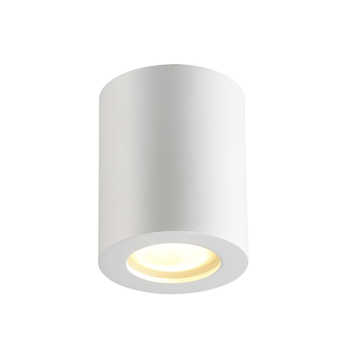 Потолочный светильник Odeon Light Hightech Aquana 3571/1C, IP44, 1xGU10x50W, белый, металл, стекло - фото 1