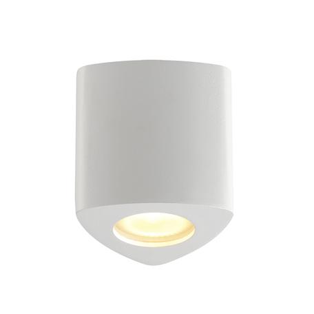 Потолочный светильник Odeon Light Hightech Aquana 3574/1C, IP44, 1xGU10x50W, белый, металл, стекло