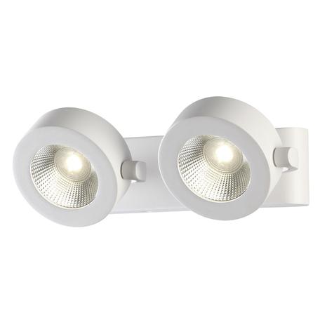 Потолочный светодиодный светильник с регулировкой направления света Odeon Light Pumavi 3493/20WL, LED 20W, 3000K (теплый), белый, металл