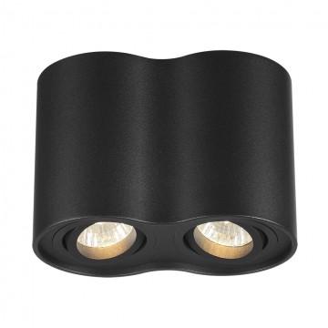 Потолочный светильник Odeon Light Pillaron 3565/2C, 2xGU10x50W, черный, металл - миниатюра 1