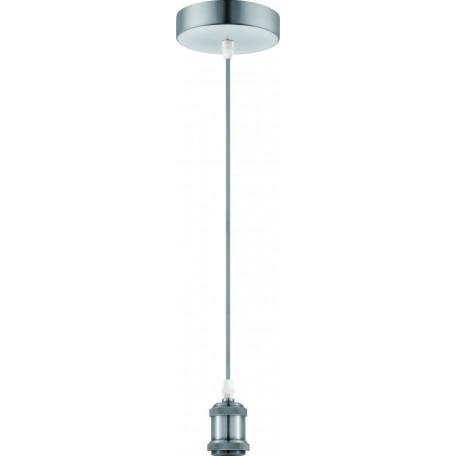 Подвесной светильник Globo Oliver A30, 1xE27x40W, никель, металл