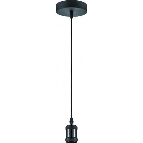 Подвесной светильник Globo Oliver A31, 1xE27x40W, черный, металл