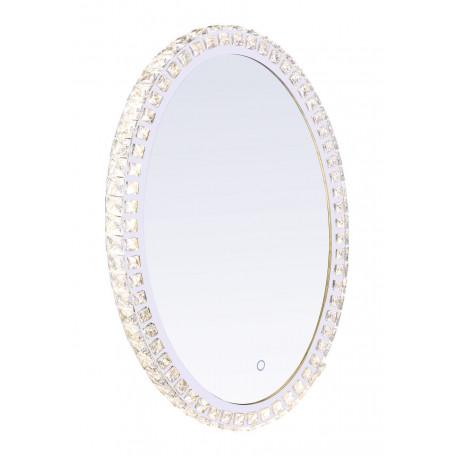 Зеркало со светодиодной подсветкой Globo Zerra 84030, LED 40W, хром, стекло