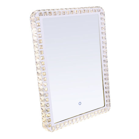 Зеркало со светодиодной подсветкой Globo Zerra 84031, LED 40W, хром, стекло