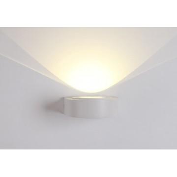 Настенный светильник Crystal Lux CLT 025W WH 1400/437, IP40 4000K (дневной), белый, металл