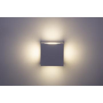 Настенный светодиодный светильник Crystal Lux CLT 026W WH 1400/438, LED 12W 4000K 680lm CRI>80, белый, металл