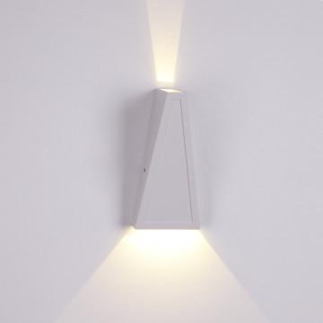 Настенный светодиодный светильник Crystal Lux CLT 225W WH 1400/439, LED 4W 4000K 80lm, белый, металл