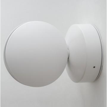 Настенный светодиодный светильник с регулировкой направления света Crystal Lux CLT 027W WH 1400/442, IP65, LED 7W, 4000K (дневной), белый, металл, пластик - миниатюра 2