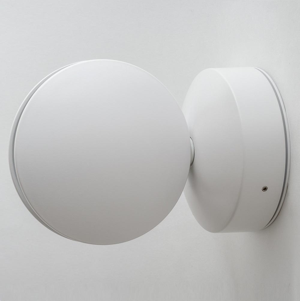Настенный светодиодный светильник с регулировкой направления света Crystal Lux CLT 027W WH 1400/442, IP65, LED 7W, 4000K (дневной), белый, металл, пластик - фото 2