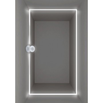 Настенный светодиодный светильник с регулировкой направления света Crystal Lux CLT 027W WH 1400/442, IP65, LED 7W, 4000K (дневной), белый, металл, пластик - миниатюра 3
