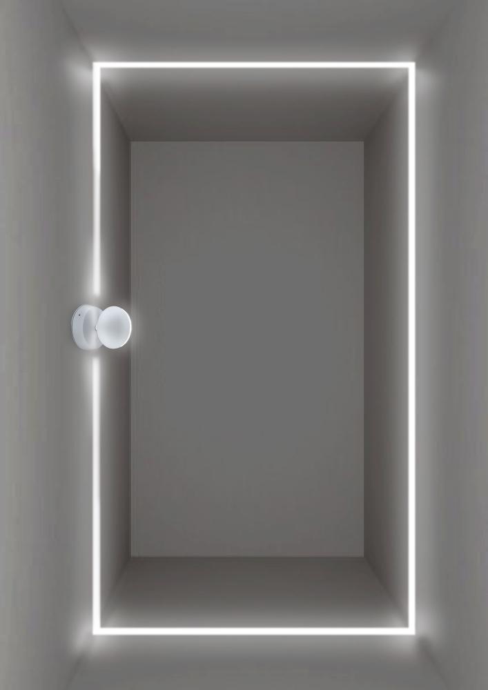 Настенный светодиодный светильник с регулировкой направления света Crystal Lux CLT 027W WH 1400/442, IP65, LED 7W, 4000K (дневной), белый, металл, пластик - фото 3
