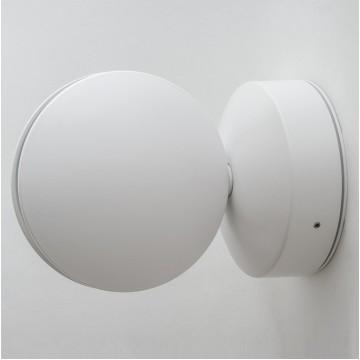 Настенный светодиодный светильник с регулировкой направления света Crystal Lux CLT 027W WH 1400/442, IP65, LED 7W 4000K (дневной), белый, металл, пластик - миниатюра 1