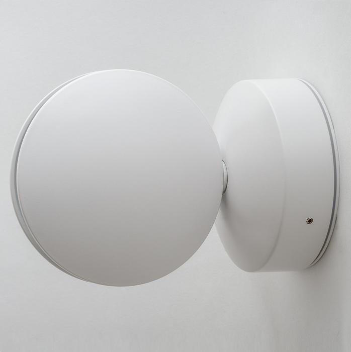 Настенный светодиодный светильник с регулировкой направления света Crystal Lux CLT 027W WH 1400/442, IP65, LED 7W 4000K (дневной), белый, металл, пластик - фото 1