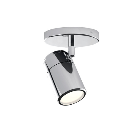 Потолочный светильник с регулировкой направления света Azzardo Noemie AZ1310, IP44, 1xGU10x35W, хром, металл