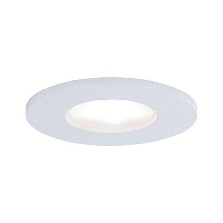 Встраиваемый светодиодный светильник Paulmann Calla 99936, IP65, LED 5W, белый, металл