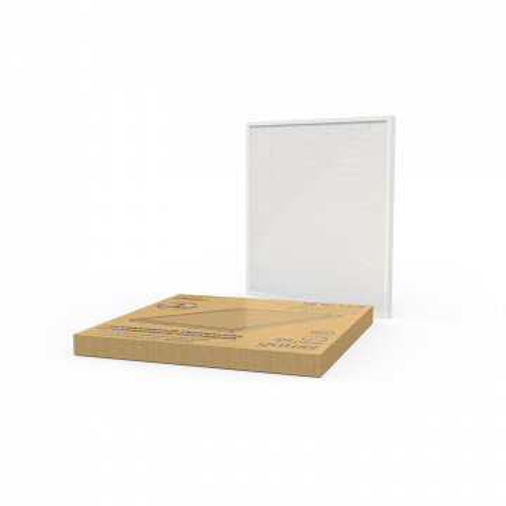 Светодиодная панель для встраиваемого или накладного монтажа Gauss 842123336, LED 36W 6500K 2950lm CRI>70, белый, пластик