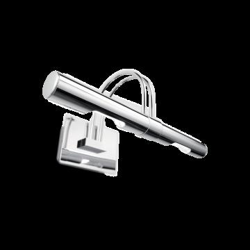 Настенный светильник для подсветки картин Ideal Lux CICO AP2 CROMO 014432, 2xG9x40W, хром, металл