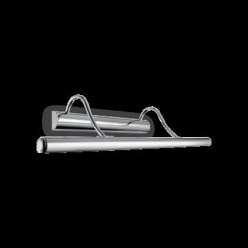 Настенный светильник для подсветки картин Ideal Lux MIRROR-10 AP4 CROMO 017303, 4xG9x40W, хром, металл
