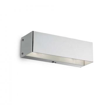 Настенный светильник Ideal Lux FLASH AP2 CROMO 007397, 2xG9x40W, хром, металл