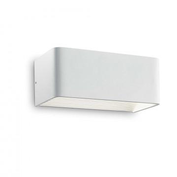 Настенный светодиодный светильник Ideal Lux CLICK AP24 017518, LED 12W 3000K 1350lm, белый, металл