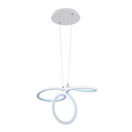 Подвесной светодиодный светильник Arti Lampadari Altedo L 1.5.56 W, LED 40W 4200K, белый, металл, пластик